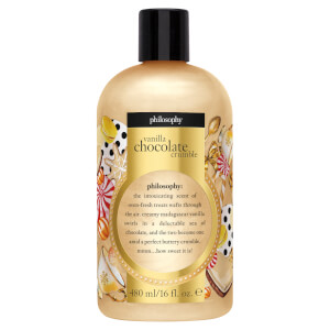 Philosophy Vanilla Chocolate Crumble Limited Edition Shower Gel 480ml