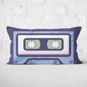 Simple Cassette Tape Rectangular Cushion