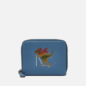 Coach Women's Rexy Small Zip Around Wallet - Stone Blue