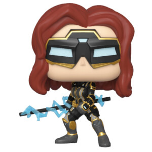Figurine Pop! Black Widow (Tenue Stark Tech) - Marvel's Avengers (jeu vidéo)