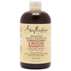 SheaMoisture Jamaican Black Castor Oil Strengthen and Restore Shampoo 384ml