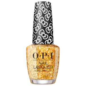 OPI Hello Kitty Limited Edition Nail Polish - Glitter all the Way 15ml