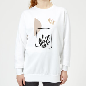 Seaweed Women's Sweatshirt - White