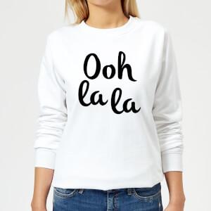 Ooh La La Women's Sweatshirt - White