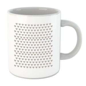 Repeat Love Heart Mug