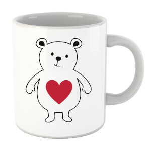Love Heart Bear Mug