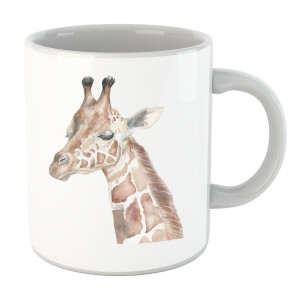 Watercolour Giraffe Mug