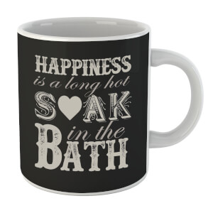 Happiness Is A Long Hot Soak In The Bath Mug