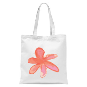 Flower 5 Tote Bag - White