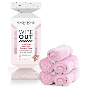 Magnitone WipeOut MicroFibre Cleansing Cloths Xmas Cracker (5 Pack)