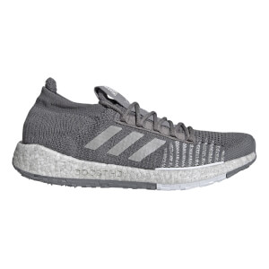 adidas Men's Pulse Boost HD Running Shoes - Grey/White