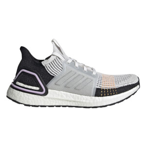 adidas Women's Ultraboost 19 Running Shoes - White/Black