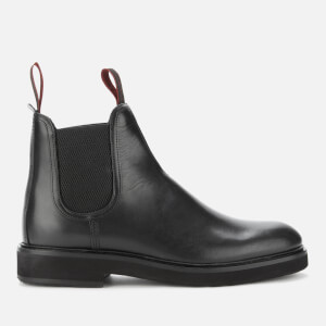 PS Paul Smith Men's Rifkin Leather Chelsea Boots - Black