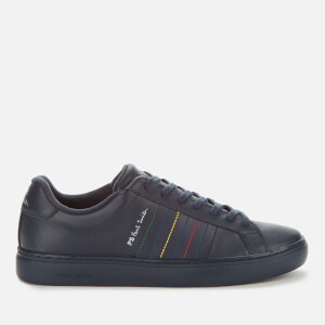 PS Paul Smith Men's Rex Leather Cupsole Trainers - Dark Navy
