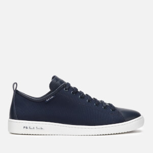 PS Paul Smith Men's Miyata Mesh Low Top Trainers - Dark Navy