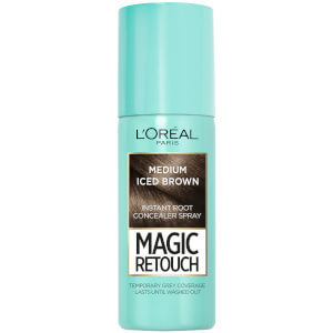 L'Oréal Paris Magic Retouch Instant Root Concealer Spray - Medium Iced Brown (75 ml)