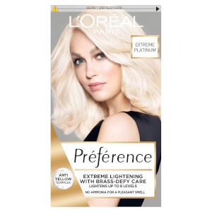 L'Oréal Paris Préférence Extreme Platinum Permanent Hair Dye