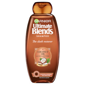 Garnier Ultimate Blends Coconut Oil Frizzy Hair Shampoo 360ml