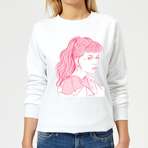 Girl Power Women's Sweatshirt - White
