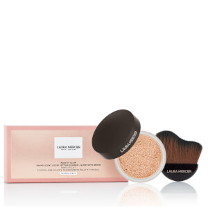 Laura Mercier Make it Glow Powder and Brush - Translucent