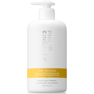Philip Kingsley Body Building Weightless Shampoo 500ml (Worth £36)