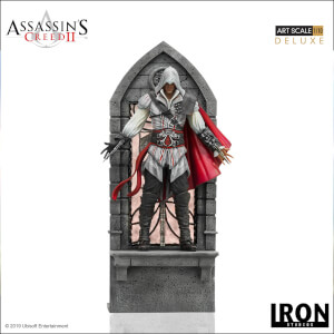 Iron Studios Assassin's Creed II Art Scale Statue 1/10 Ezio Auditore Deluxe 31cm