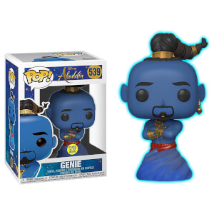 Figura Funko Pop! Exclusivo - Genio (Glow In The Dark) - Disney: Aladdin