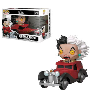 Disney 101 Dalmatians Cruella DeVil EXC Pop! Ride Figure