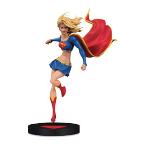 Statuetta di Supergirl di Michael Turner, serie DC Designer