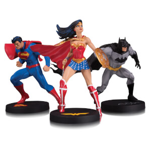DC Collectibles DC Designer Ser Jim Lee Collector 3 Pack Statue Set