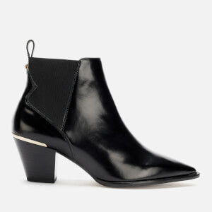 Ted Baker Women's Rilanni Leather Western Style Ankle Boots - Black