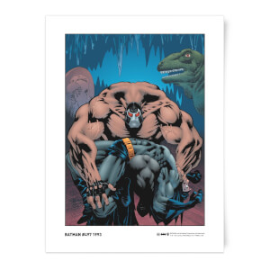 DC Comics Breaking The Bat Giclee Art Print