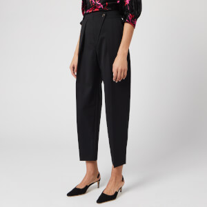 See By Chloé Women's Wool Tailored Trousers - Black