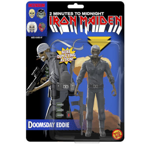 Iron Maiden Doomsday Eddie Fig Biz Action Figure