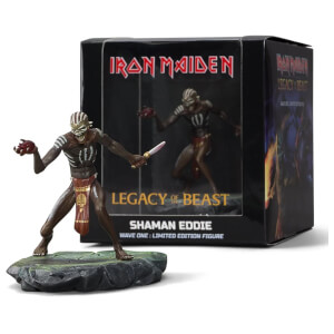 Iron Maiden Legacy of the Beast - Shaman Eddie Figure