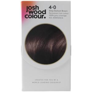Josh Wood Colour 4 Deep Dark Brown Colour Kit