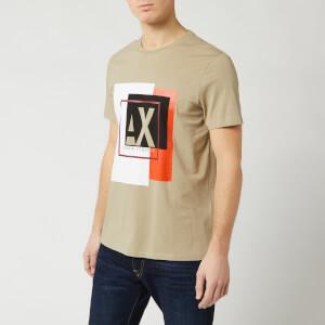 Armani Exchange Men's Box Logo T-Shirt - Seneca Rock