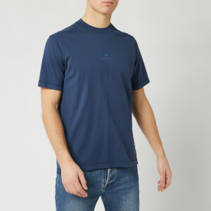 PS Paul Smith Men's Centre Logo T-Shirt - Blue