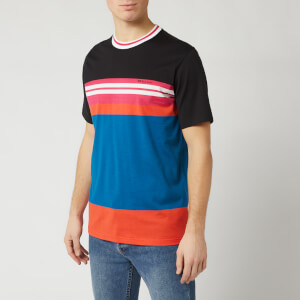PS Paul Smith Men's Regular Fit Stripe T-Shirt - Multi