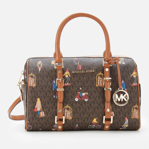 MICHAEL MICHAEL KORS Women's Bedford Travel Medium Duffle Satchel - Brown Multi