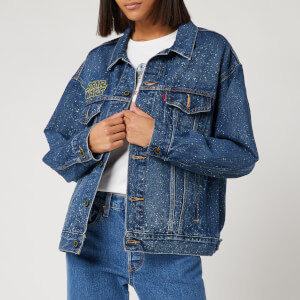 Levi's X Star Wars Women's Dad Trucker Jacket - May The Force Be with You