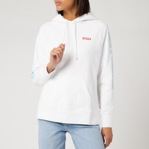 Levi's X Star Wars Women's Graphic Sport Hoodie - Chewbacca White