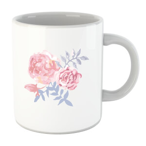 Water Colour Cockscomb Mug