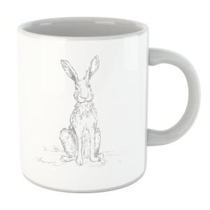 Hare Sketch Mug
