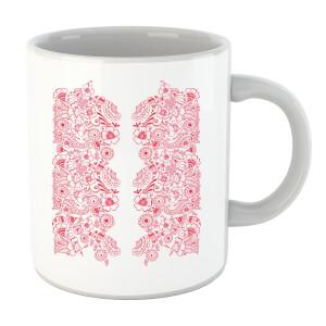 Elegant Floral Pattern Mug