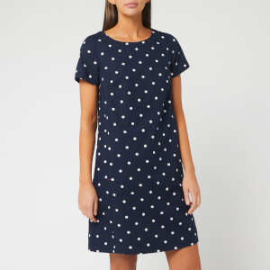 Joules Women's Fifi Print Dress - Navy Spot