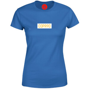 COPA90 Everyday - Royal Blue/White/Yellow Women's T-Shirt