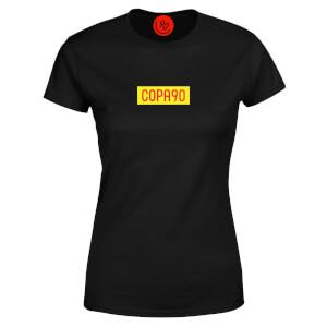 COPA90 Everyday - Black/Yellow/Red Women's T-Shirt