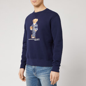 Polo Ralph Lauren Men's Bear Logo Sweatshirt - Cruise Navy