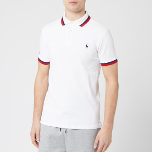 Polo Ralph Lauren Men's Tipped Sleeve Logo Polo Shirt - White/Multi
